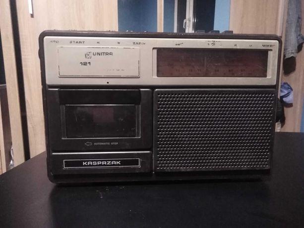 Radio magnetofon Unitra KASPRZAK