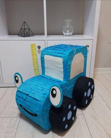 """Пиньята """"синий трактор"""""""