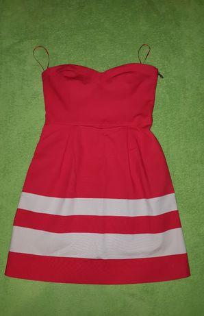 Ягодное платье Zara