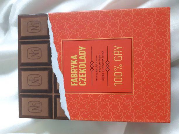 Gra planszowa fabryka czekolady jak nowa