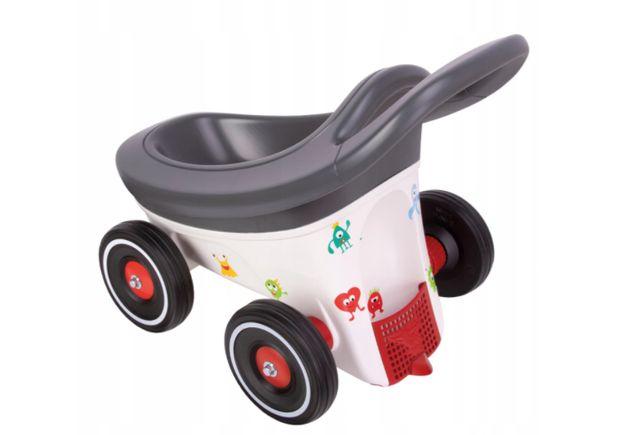 Big buggy 3w1 wózek przyczepka chodzik
