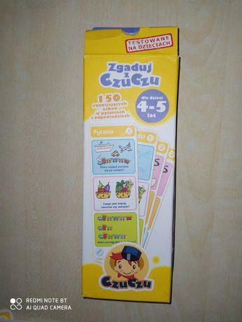 Gra edukacyjna zagadki Czuczu dla dzieci 4-5lat