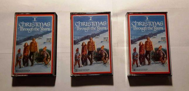 Kaseta magnetofonowa x 3 - Christmas Through The Years Readers Digest