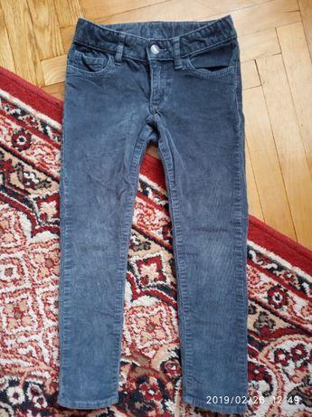 Штани штаны скіні скини вельвет сірий 4 - 5 років GapKids серый