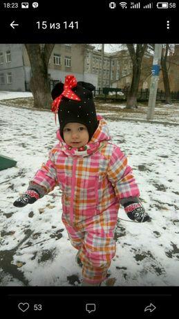 Шапка ,шапкочка зимняя на 1-2 годика