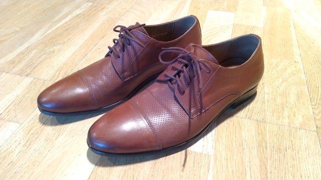 Nowe buty skórzane firmy RYŁKO rozm. 40