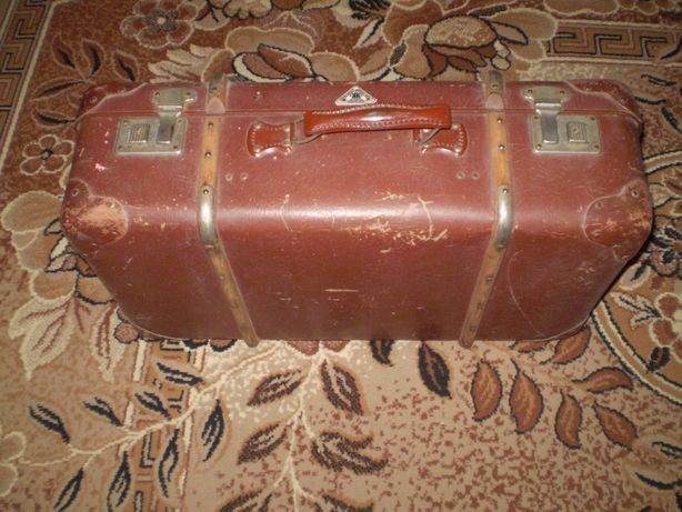 Немецкий чемодан 30-50-х Kindelbruck.