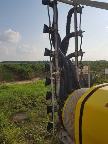 Opryskiwacz sadowniczy Delta 1000L sterownik