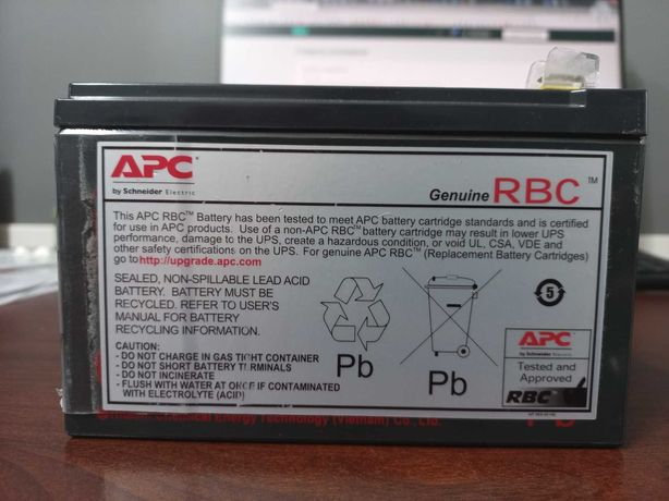 АКБ (аккумуляторная батарея) CSB 12v (APC RBC-2) для UPS