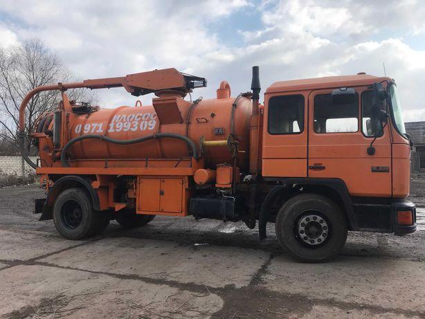 Илосос Харьков,чистка выгребных, сливных ям, откачка ям на автомойках