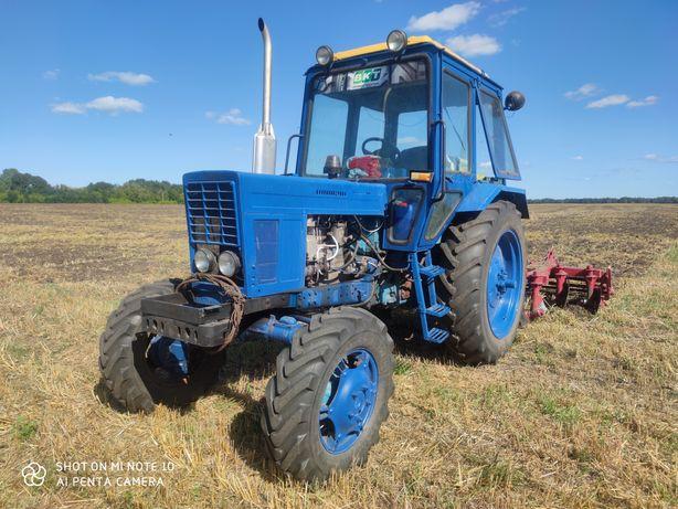 Трактор МТЗ-82. Трактор