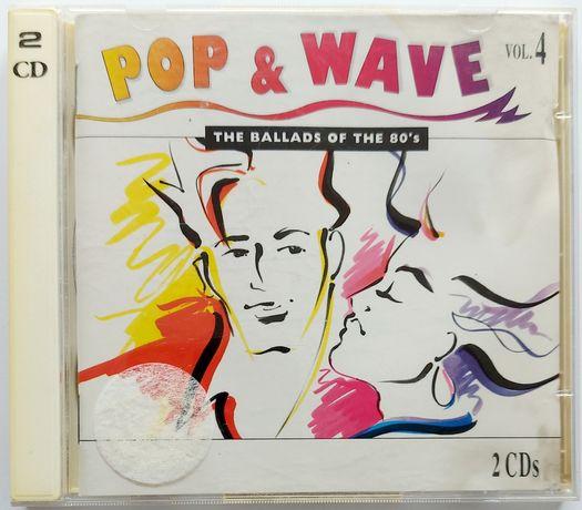 Pop & Wave vol.4 2CD 1993r A-HA Billy Idol Spandau Ballet Erasure