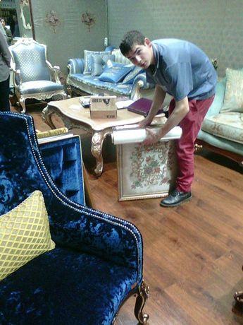 Доставка дивана. Перевозка мебели. Сборка мебели. Упаковка мебели.