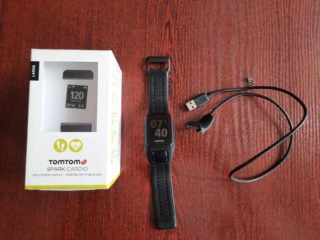 TomTom Spark Cardio GPS Fitness Watch L - jak nowy!