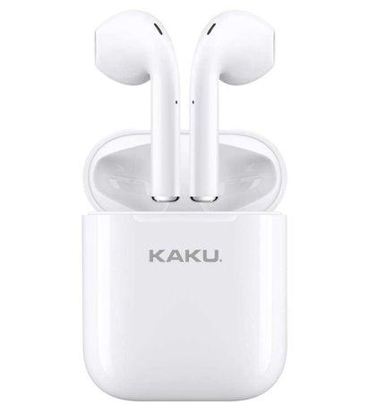 Słuchawki Bezprzewodowe Bluetooth Douszne TWS KAKU In-Ear Białe