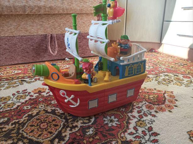 Пиратский корабль Kiddieland