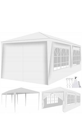 Pawilon ogrodowy Namiot Altanka 3x6 + 6 ścianek