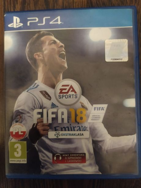 Sprzedam FIFA 18 PS4
