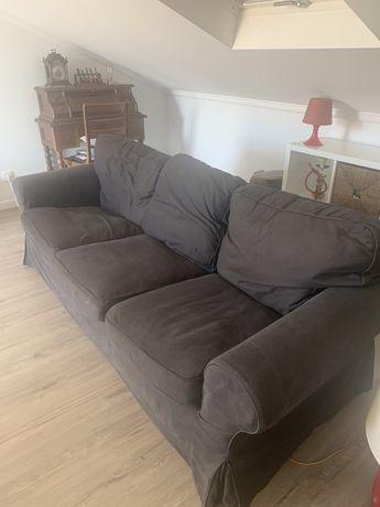 Sofa de 3 lugares usado em bom estado