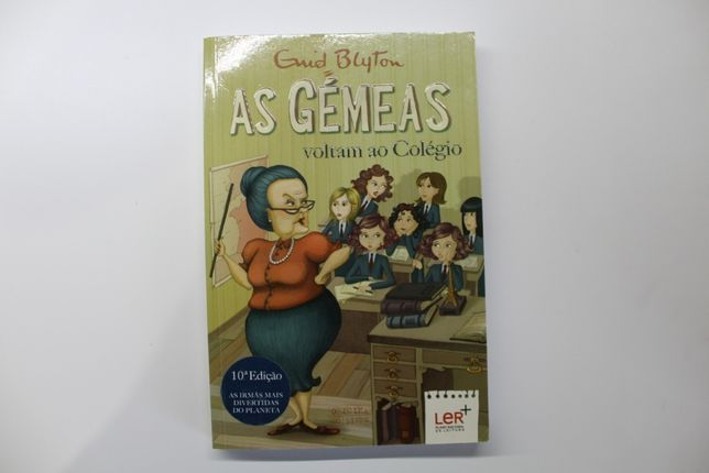 Livro- As Gémeas voltam ao colégio