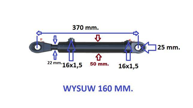 NOWY tłok hydrauliczny. 160 mm. przekładni BIZONA wariator. Polski.