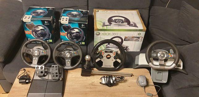 Stare kierownice Fanatec CSR, Logitech, Microsoft Xbox 360 One PC