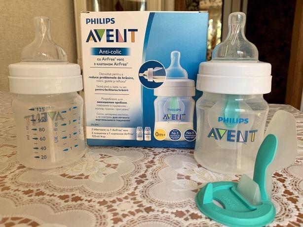 Бутылочки для кормления с клапаном Philips Avent Anti-Colic AirFree