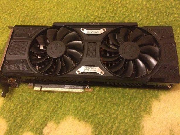 Видеокарта EVGA GTX 1060 6GB Nvidia Geforce