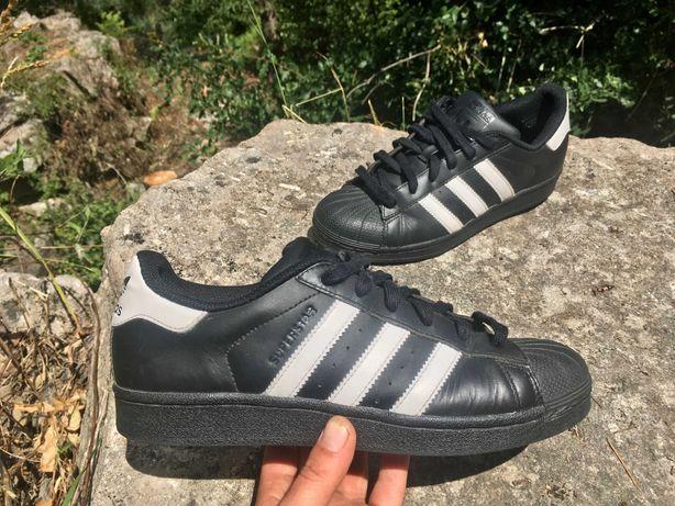 Adidas Superstar preto 39 1/3