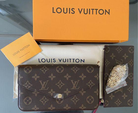 Pochete Felicie LV Louis Vuitton Nova c/ caixa
