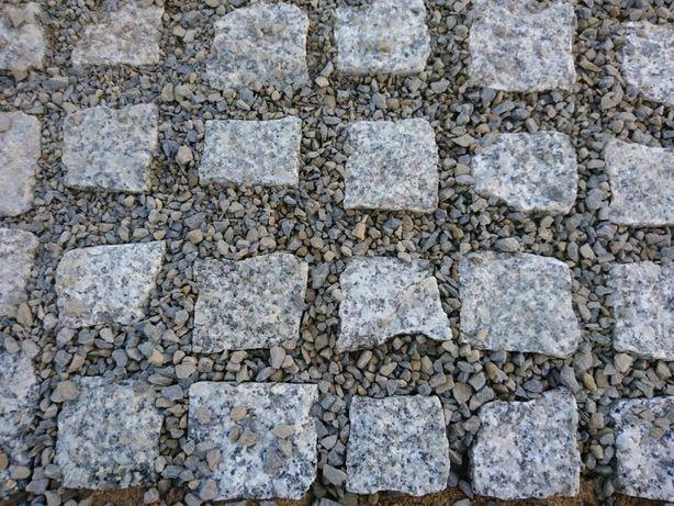 Kostka granitowa ścieżki, parkingi duży wybór od ręki