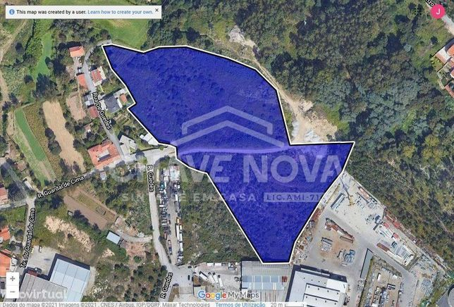 ASR  Terreno na Zona Industrial Canelas Gaia Porto para armazém casa
