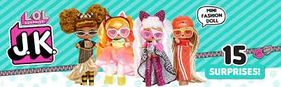 L.O.L Surprise! J.K. Mini Fashion dolls. Неон, Пчелка, Дива, Диджей