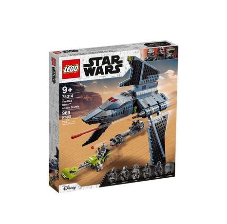 Конструктор LEGO Star Wars Боевой шаттл Бракованной партии (75314)