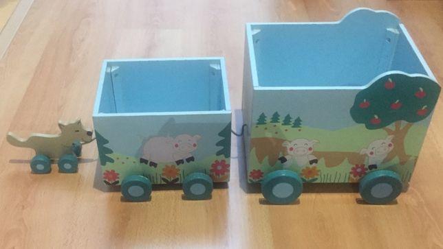 Caixas de arrumação de criança