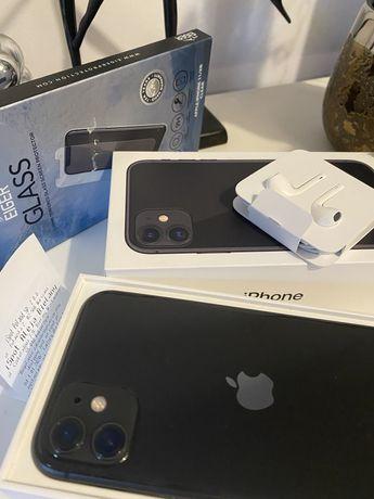 Iphone 11 64 gb czarny, w idealnym stanie