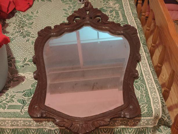 Espelho vintage com mais de 60anos