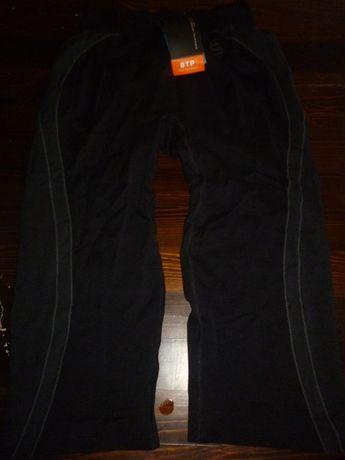 spodnie termiczne 3/4 damskie brubeck/fitnes