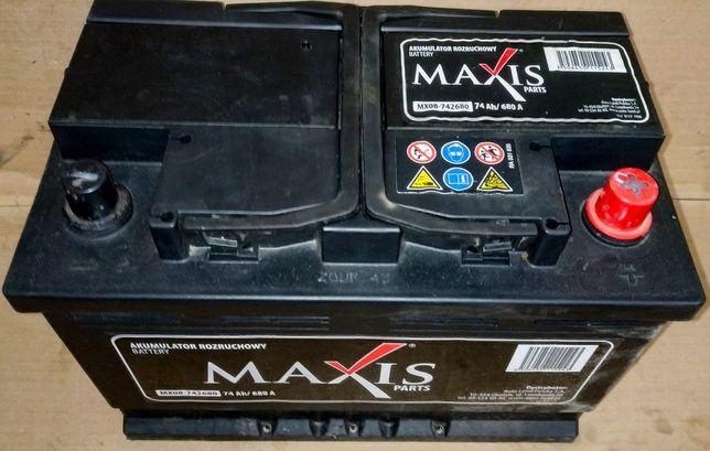 Akumulator Maxis 74Ah 680A z Niemiec