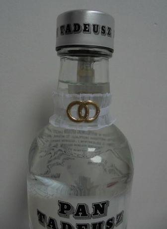 Podwiązki na butelkę, wódkę weselną, 10szt. TANIO!