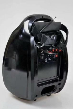 Колонка-чемодан Golon RX-810BT со светомузыкой, с микрофоном +bluetoot