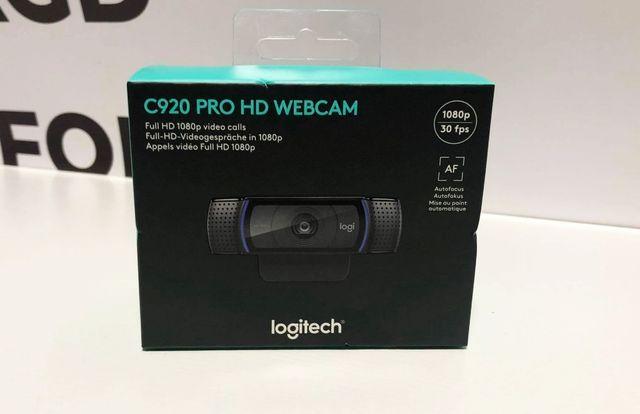Nieużywana Kamerka Logitech HD Pro C920 komplet