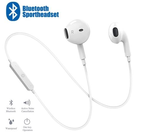 Fones de Desporto Wireless   Bluetooth para Iphone Samsung Android iOS