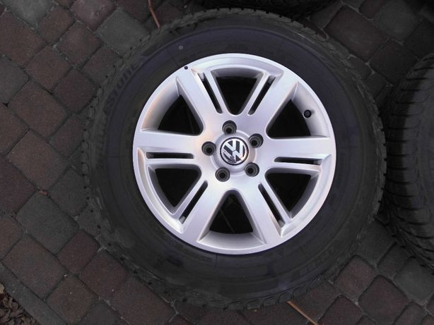 Колеса в сборе R17 5x120 VW Amarok резина 245/65 зимняя