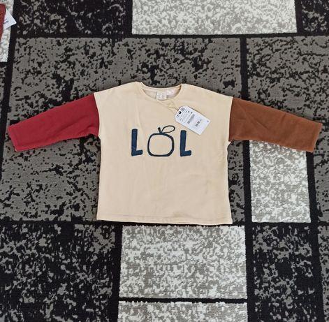 Nowa Bluza Zara rozmiar 104