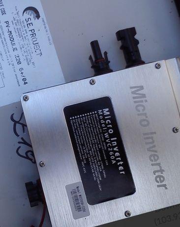 Mini elektrownia fotowoltaiczne mikroinwerter +panele fotowoltaiczne