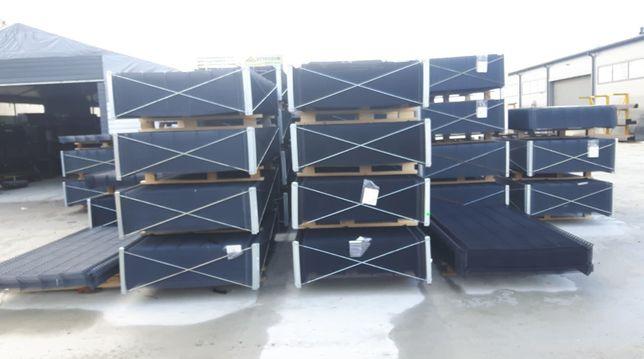 Panel ogrodzeniowy 2500 x 1330 mm fi 4 RAL 7016, 9005