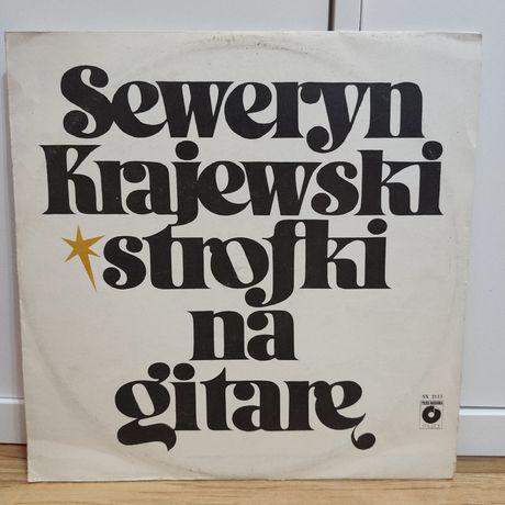 Seweryn Krajewski - Strofki na gitarę - winyl/płyta winylowa-stan: NM-