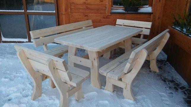 Meble ogrodowe barowe drewniane.TRANSPORT 150 ZŁ