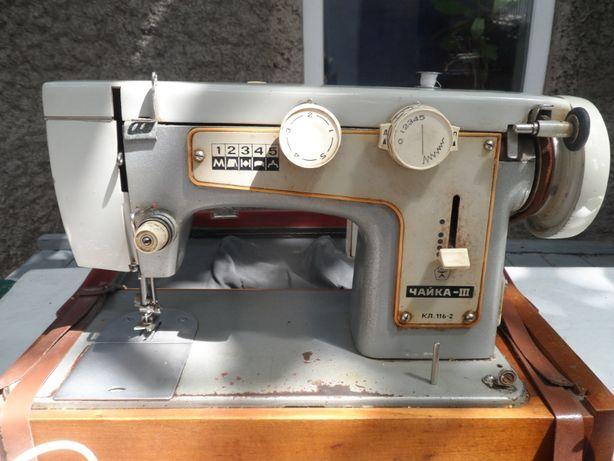 Швейная машинка Чайка-ІІІ с электроприводом